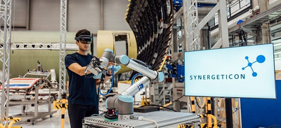 Start-up Synergeticon first established itself as a system provider for industrial AI in aircraft construction.